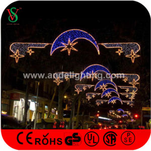 New LED Christmas Motif Cross Street Light with Fancy Star pictures & photos