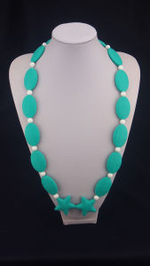 Customized Silicone Chew Bead Necklace 02#