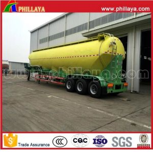 Cement Powder Wheat Flour Silo Bulk Cement Tank Semi Trailer pictures & photos