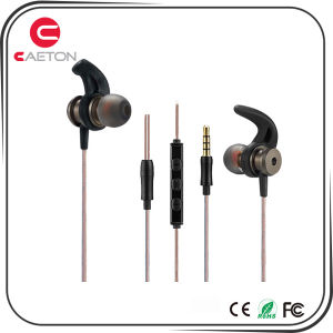 Metal Case Headphones Mobile Phone Accessories Earphones for MP3/MP4