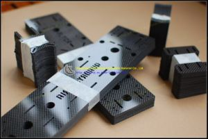 3k Carbon Fiber Plate with CNC Cutting