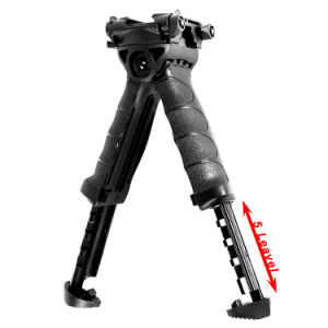 Tactical Military Foregrip Swivel Foldable Bipod 20mm Picatinny Rail for Rifle