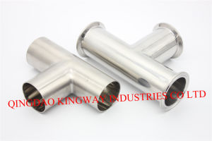 Stainless Steel Sanitary Welded Tee, pictures & photos