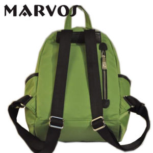 Fabric/Cow Leather Backpack Bag China Supplier OEM (BS1603-7) pictures & photos