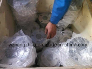 Stainless Steel Forging Pipe Flange 4 Holes pictures & photos
