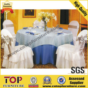 Classy Polyester Chair Cover and Table Cover pictures & photos