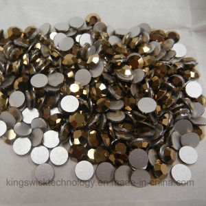 Wholesale Rhinestone 1440PCS Flat Back Crystal Ss12 34mm Aurum pictures & photos