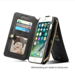 Multifunctional PU Leather Cell Mobile Phone Case for iPhone pictures & photos