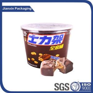 Chocolate Paper Bucket with Cover pictures & photos