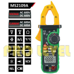 6000 Counts Digital AC and DC Clamp Meter (MS2109A) pictures & photos