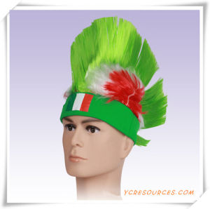 World Cup Football Fans Flag Afro Wig as a Promotion Gift (PF14003) pictures & photos