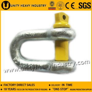G- 210 Forged U. S Type Screw Pin Chain Shackle
