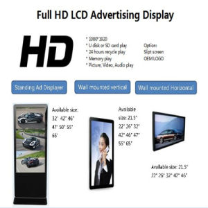 "10"" to 65"" Touch Android Windows LCD LED Indoor Information Kiosk pictures & photos"