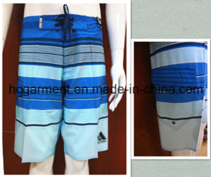 Swimming Shorts Beach Wear Polyester/Cotton Board Shorts for Man pictures & photos