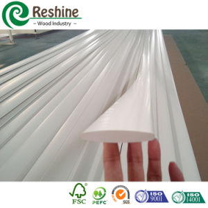 Extrusive White Paint PVC Shutter Profile