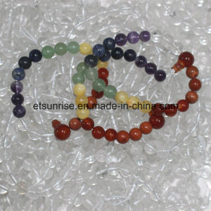 Fashion Natural Crystal Charkra Power Bead Bracelet pictures & photos
