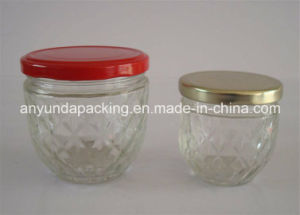 Preservative Glass Jars for Food and Fruit with Cap