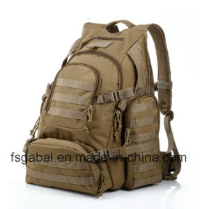 Large Waterproof Outdoor Sports Travel Hiking Army Tactical Backpack pictures & photos