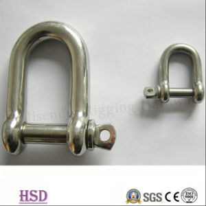 Rigging Hardware Stainless Steel 304/316 Twisted Shackle for Marine Fittings pictures & photos