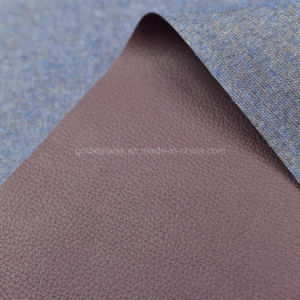 Strong Scratch Resistance PU Leather for Furniture Sofa