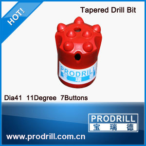 42mm Diameter Tapered Drill Button Bit pictures & photos