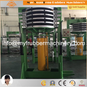 Rubber Compression Molding Press for Curing Cycle Tirec pictures & photos