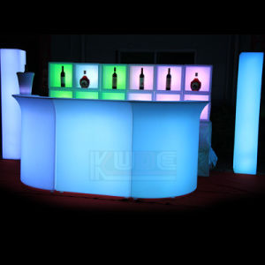 LED Cocktail Cabinet Glow Bar Furniture Unit pictures & photos