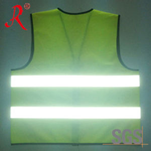 High Visibility Reflective Safety Work Vest (QF-531) pictures & photos