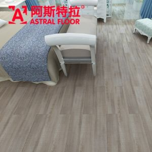 Hotsale 12mm Silk Surface Melamine Engineered Flooring Laminate Flooring (AY1703) pictures & photos
