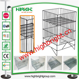 Promotion Display Table Wire Mesh Table pictures & photos