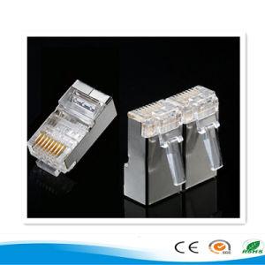 STP CAT6A 8p8c Modular Plug RJ45 Connector Modular Plug pictures & photos