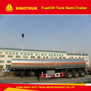 50m3 3 Axle Alumminum Alloy Fuel/Oil Tank Semi-Trailer pictures & photos