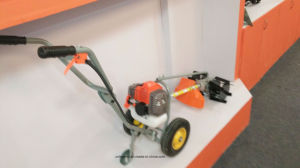 Gasoline Hand Push Grass Cutter pictures & photos