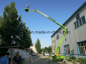 12m Battery Type Articulated Boom Lift Aerial Platform pictures & photos