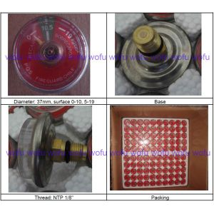 Stainless Steel Pressure Gauge for Extintor pictures & photos