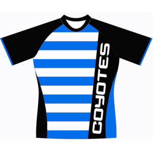 Custom Sublimated Rugby T Shirt Jersey Uniform for Teams pictures & photos