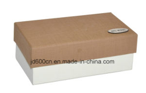 New Design Paper Gift Box with Logo Stamp pictures & photos