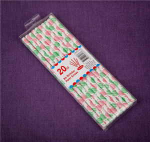 2015 Custom Printed Drinking Straws Paper Straws pictures & photos
