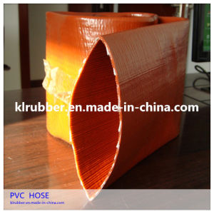 High Quality 1-8 Inch 2-8 Bar Water Discharge PVC Layflat Hose pictures & photos