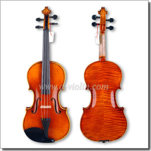 Hand-Made Conservatory Nice Flamed Maple Violin (VH500Z) pictures & photos