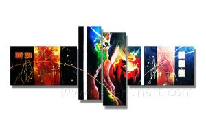 100% Hand Painted Wall Decor Oil Painting on Canvas pictures & photos