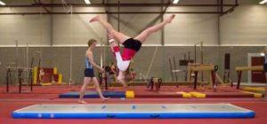 High Quality Drop Stitch Inflatable Gymnastics Mattress pictures & photos