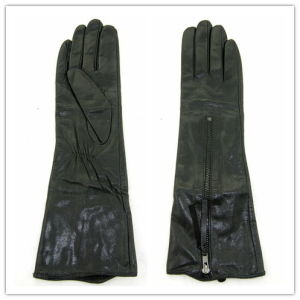 Lady Fashion Leather Gloves (JYG-25212) pictures & photos