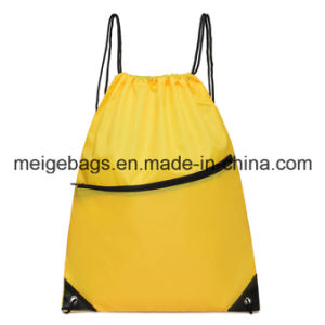 Polyester Promotional Drawstring Backpack, with Custom Size and Design pictures & photos