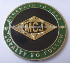 Customized& Gold Plating 3D Challenge Coin pictures & photos