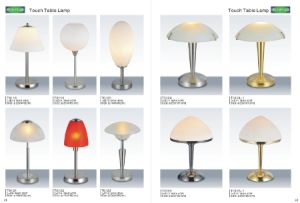 Series of Metal Touch Table Lamps (T0118-T0125)