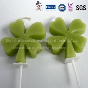 Beautiful Four Leaf Clover Decorative Birthday Candle pictures & photos