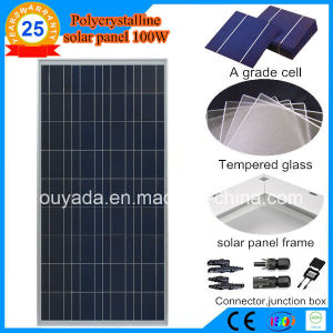 100W Polycrystalline PV Panel pictures & photos