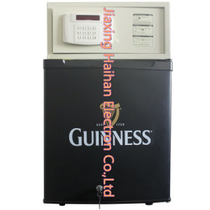Electric Minibar with 40liter for Hotel Room (BC-40FB & H-Safe003) pictures & photos