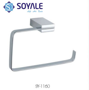 Brass Material Towel Ring Chrome Finishing Sy-1160